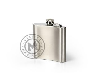 Metal flask, Brandy