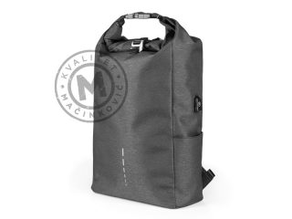 Anti-theft backpack with one main compartment, Hadson