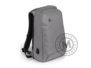 Anti-theft backpack with one main compartment, Punto