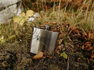 Stainless steel flask, Brandy 6