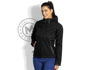 Ženska softshell jakna sa kapuljačom, Black Peak Women