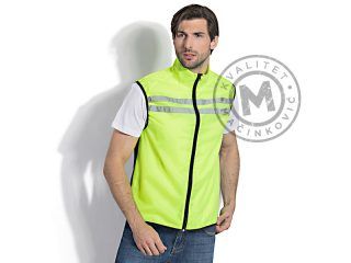 Unisex hi viz safety and sports vest, Blocker