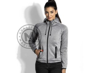 Women's mélange hooded sweatshirt, Cooper Lady
