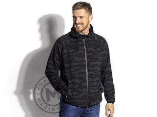 Unisex camouflage hooded sweatshirt, Guerilla