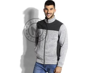 Unisex softshell and knitted fleece jacket, Jupiter