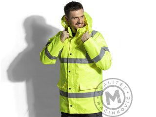 Hi viz winter parka, Traffic