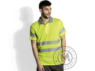 Hi viz safety polo shirt, Vision Polo