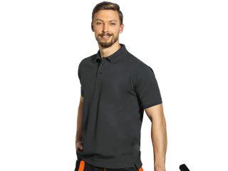 Workwear polo shirt, Carbon