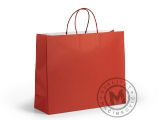 Paper bag with soft touch coating, Gia