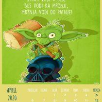Kalendar 2020, April