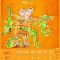 Kalendar 2020, Avgust