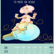 Kalendar 2020, Jun