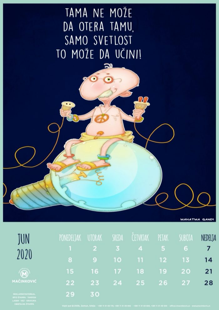 kalendar 2020 jun