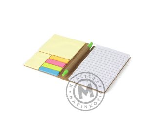 Biodegradable pocket note pad, Ozone