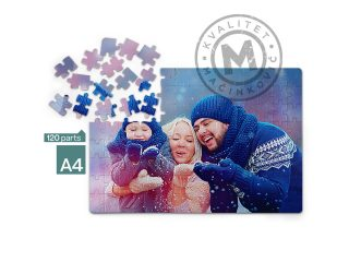 Sublimation puzzle, Puzzle