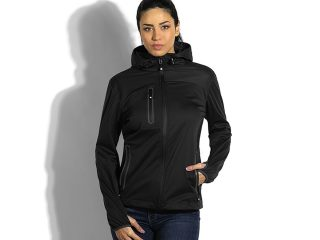 Ženska softšel jakna sa kapuljačom, Rider Women