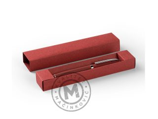 Metal ball pen in a gift box, Astra