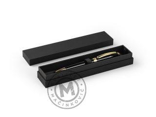 Metal ball pen in a gift box, Berta