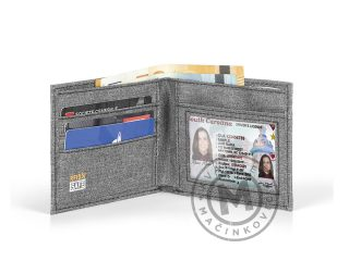 Wallet with RFID protection, Cash Plus