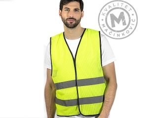 Safety fluorescent vest, Glow Mesh