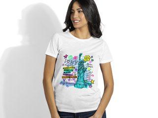 Ženska majica za sublimaciju, Subli Lady