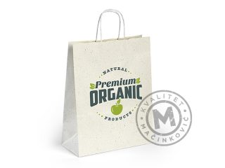 Biodegradable paper bag, Flora