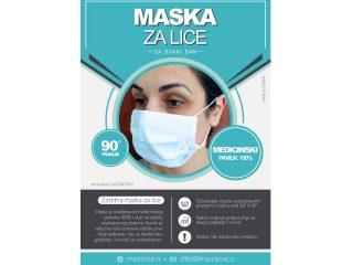 Zaštitna maska za lice, MP2020