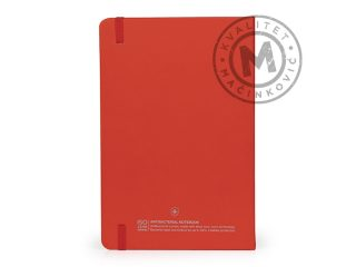 Antibacterial A5 notebooks, Note AB