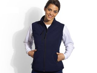 Women's softshell vest, Skipper Vest Women