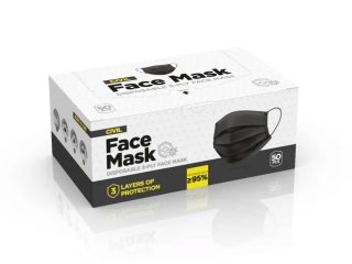 Disposable face mask, DFM 50