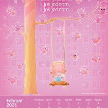 Kalendar Mačinković 2021, Februar