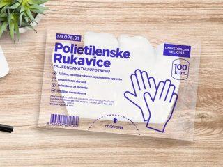 Polietilenske rukavice za jednokratnu upotrebu, PE Gloves