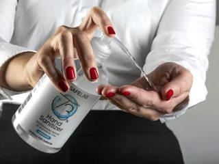 Antibacterial hand lotion, Dez 500L