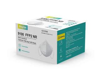 FFP2 NR non-medical particle filtering half mask, 9100
