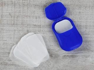 Listići sapuna u plastičnom pakovanju, Soap