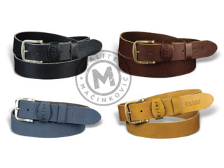 Men's leather belt, 212