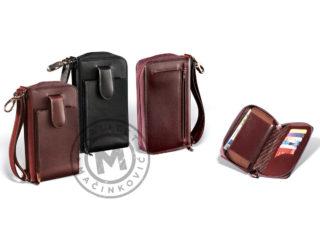 Men's leather handbag, 397