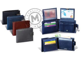 Men's leather wallet, 3251
