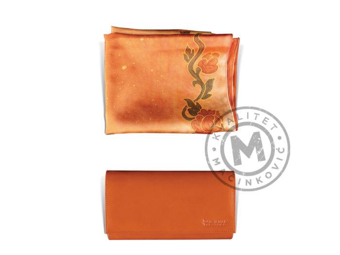 set-svilena-esarpa-i-kozni-novčanik-871-e