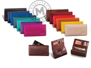 Women's leather wallet, 326