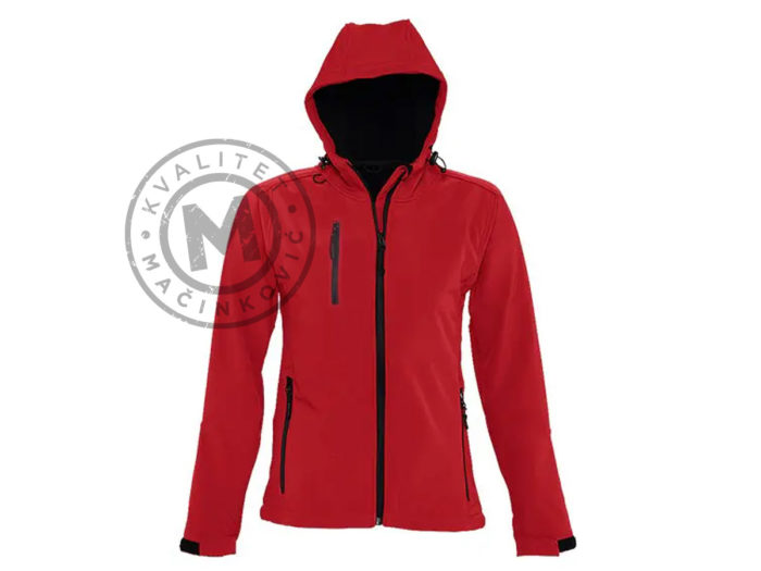 women's-softshell-jacket-with-detachable-hood-red