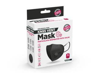 Zaštitna maska sa ventilom, Pro Safe KN95 Vent