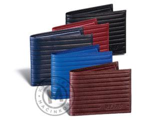 Elegant men's leather wallet, 395