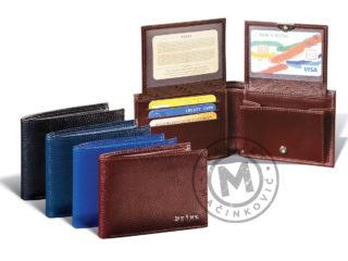 Fancy men's leather wallet, 1101