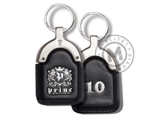 Hotel leather keychain, 901