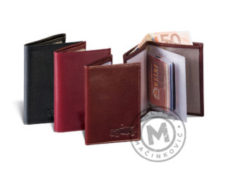 Leather cover for driver license, 357