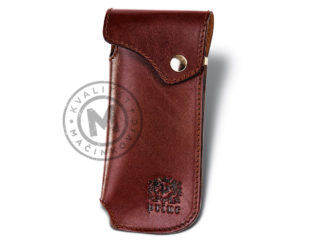 Leather eyeglass case, 3012