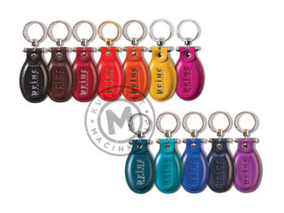 Leather keychain, 904
