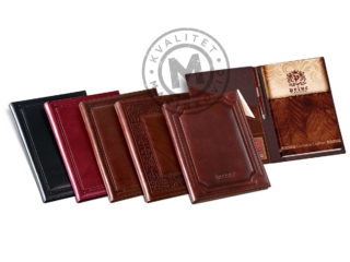 Leather portfolio A4, 937