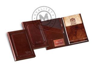 Leather portfolio B5, 941